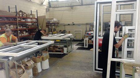 Fabricarea tamplariei PVC pentru termopane