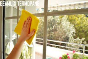 Curatare geamuri termopan